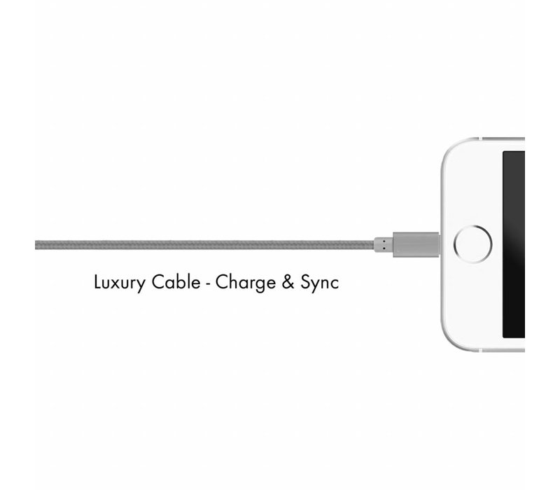Lux Lightning cable Spacy Gray