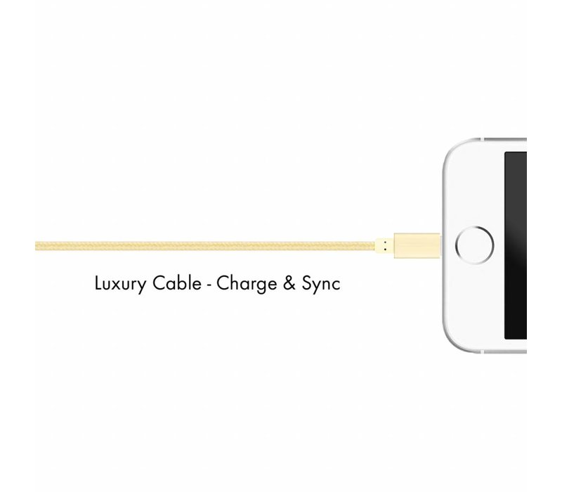 Lux Lightning cable Bright Gold