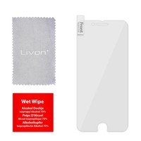Livon Apple iPhone 6/6S/7/8 - Tempered Glass (Clear Armor)