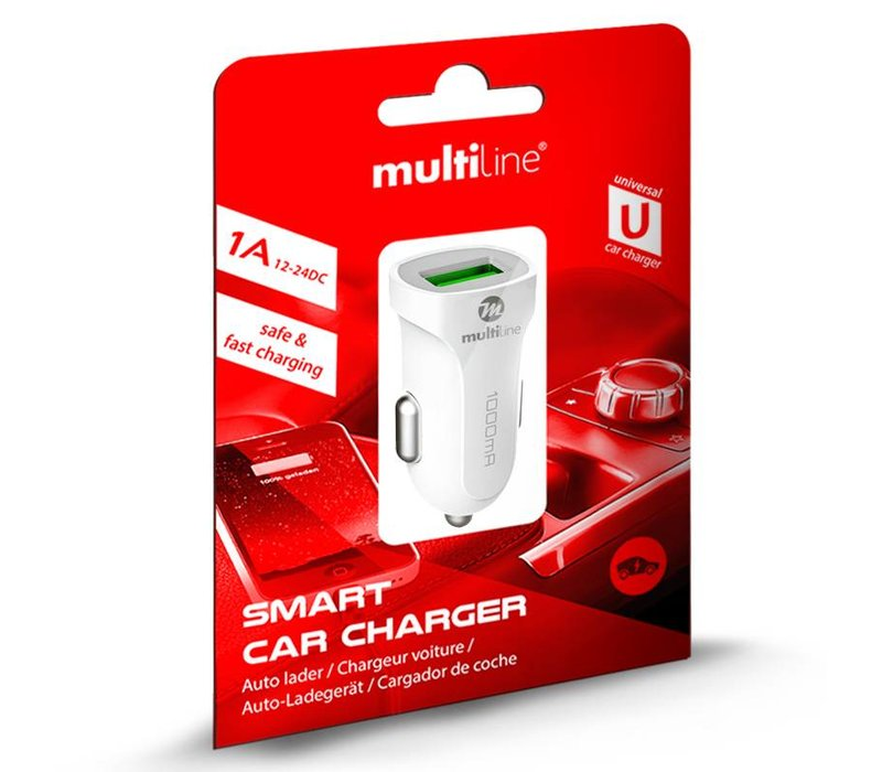 1-Port Car charger 1A