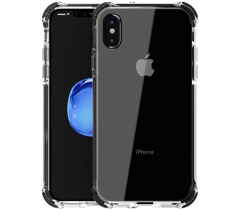 newest collection 2c6ea 4d317 Livon Apple iPhone X / iPhone XS Tactical Armor - Shock Shield - Black