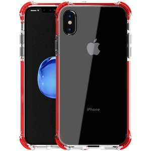 Livon Apple iPhone X/iPhone XS Tactical Armor - Shock Shield - Red