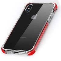 Apple iPhone X/iPhone XS Tactical Armor - Shock Shield - Red