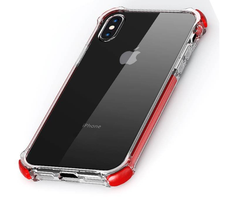 Apple iPhone 7 / iPhone 8 Tactical Armor -Shock Shield - Red