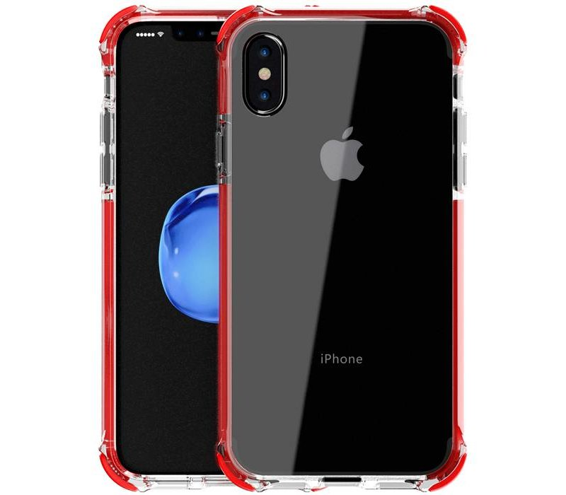 separation shoes 28700 12a65 Livon Apple iPhone 7 Plus / iPhone 8 Plus Tactical Armor - Shock Shield -  Red