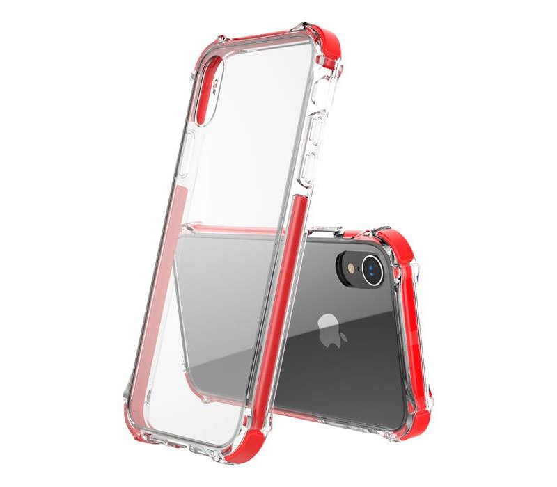 Apple iPhone 7 Plus / iPhone 8 Plus Tactical Armor - Shock Shield - Red