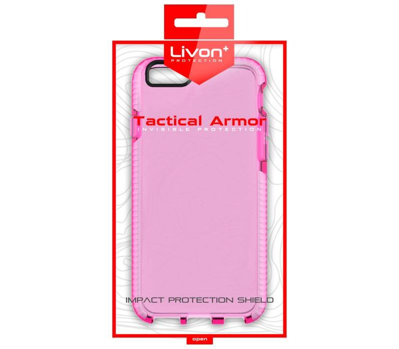 Apple iPhone 7 Plus / iPhone 8 Plus Tactical Armor - Pure Shield - Pink