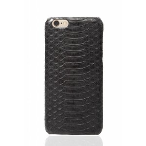 CWL iPhone 6 Plus / 6s Plus Olive Black Real Snake Skin