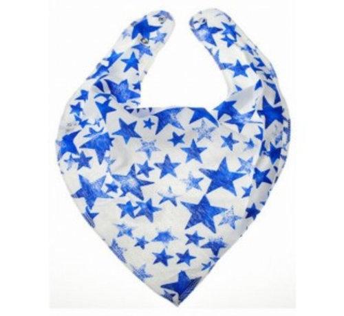 Bandana Bibble slabben Bandana Bibble Slab Blue Starlight