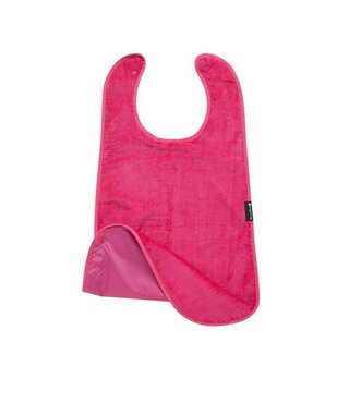 Supersized Feeding Apron Cerise