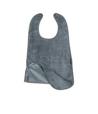 Supersized Feeding Apron Grey