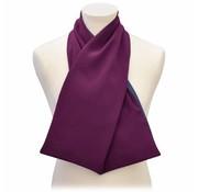 Bibetta Care Heren Sjaal Care Design Aubergine
