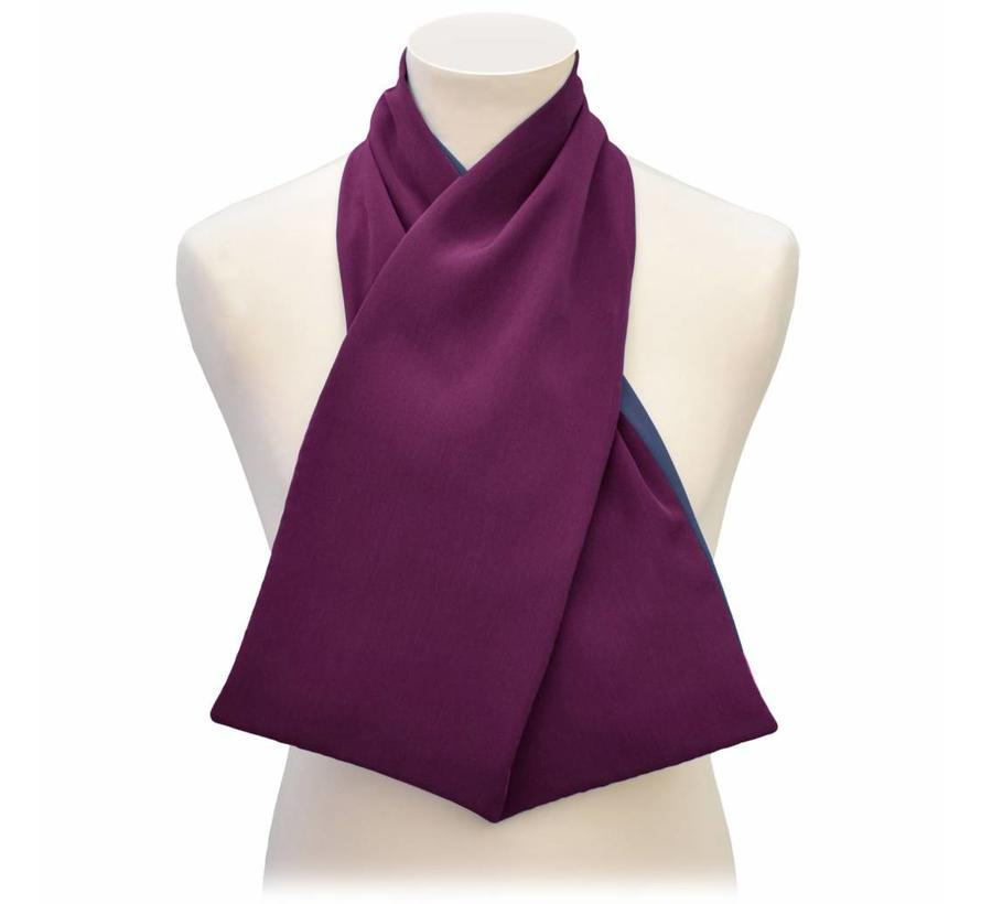 Bibetta Heren Sjaal Care Design Aubergine