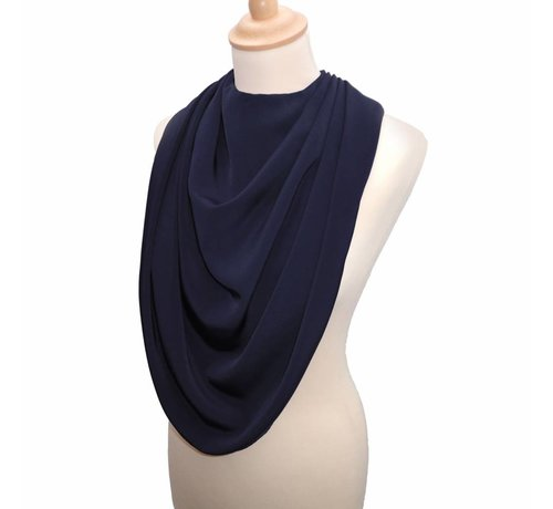 Bibetta Care Bibetta Pashmina Sjaal Slab Care Designs Navy