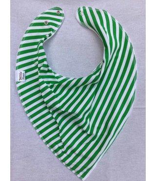 Bandana Bibble Green stripe