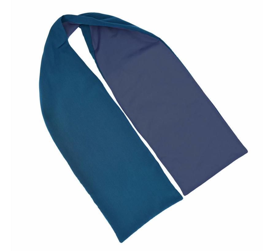 Bibetta Heren Sjaal Care Design Staalblauw