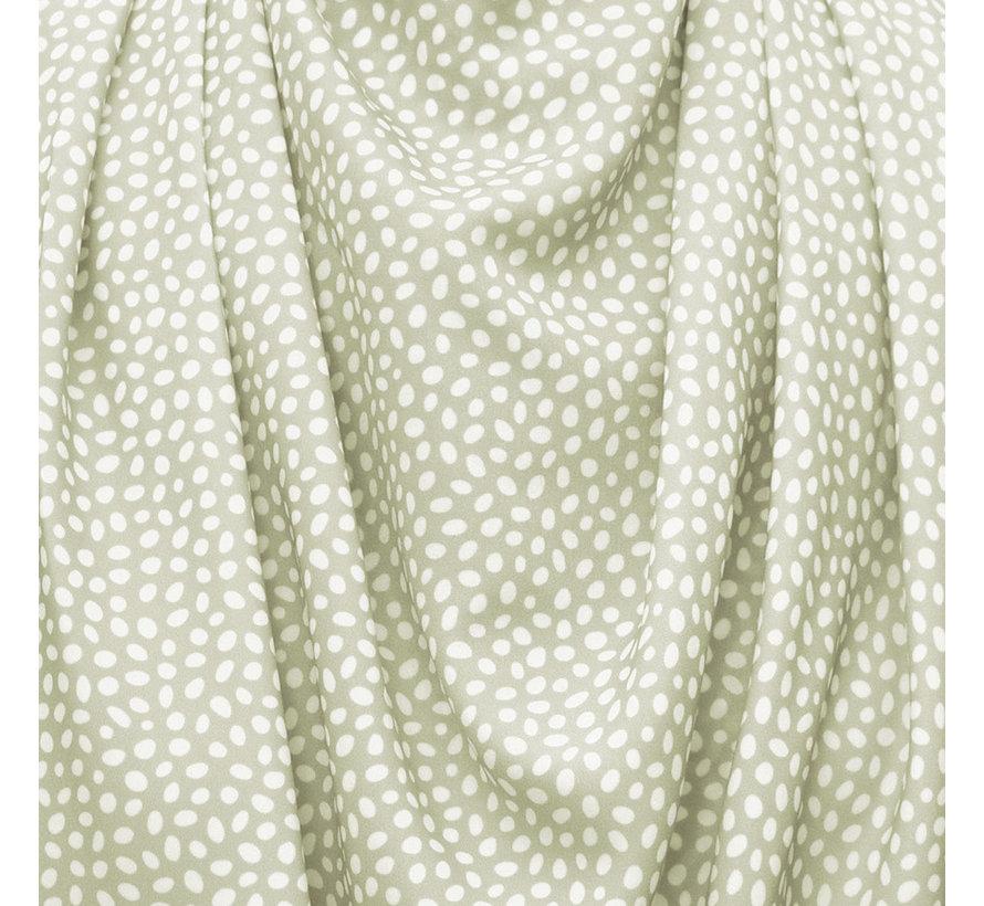 Bibetta Pashmina Sjaal Slab Care Designs Saliegroene Stip