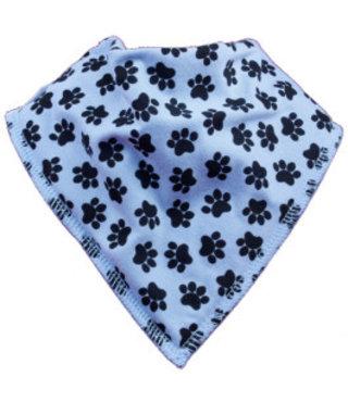 Bandana Bibble Blue Doggy