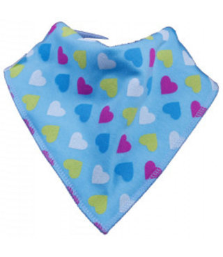 Bandana Bibble Blue Heart