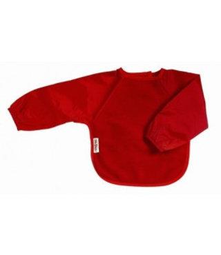 Mouwslab Fleece Rood