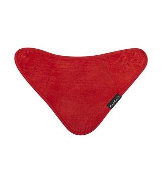 Bandana Bib Red