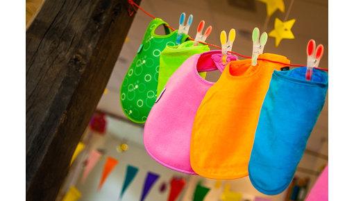 Slabben, voor baby's en kinderen