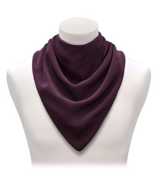Bandana Care Long Aubergine