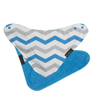 Fashion Bandana Wonderslab Aqua Chevron