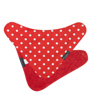 Mum2Mum Fashion Bib Red Dots