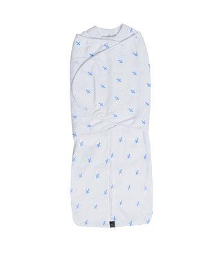 Mum2Mum Summer Dream Swaddle Small Blue Cross