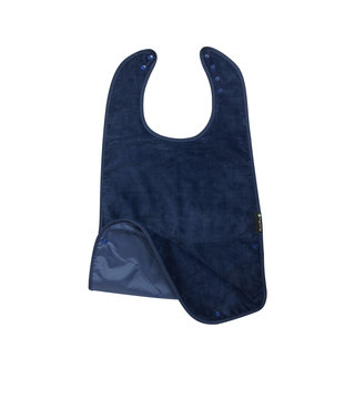 Plus Range Supersized Feeding Apron Navy