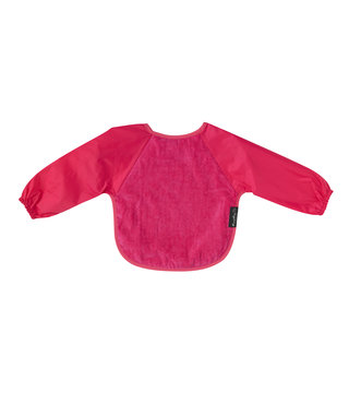 Sleeved Bib Large Cerise