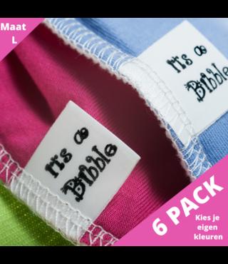 Voordeelpakket: 5 + 1 gratis Bandana Bibble maat L