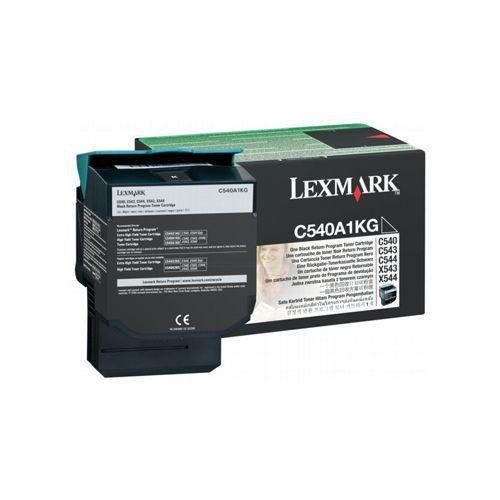 Lexmark Lexmark C540A1KG toner black 1000 pages return (original)
