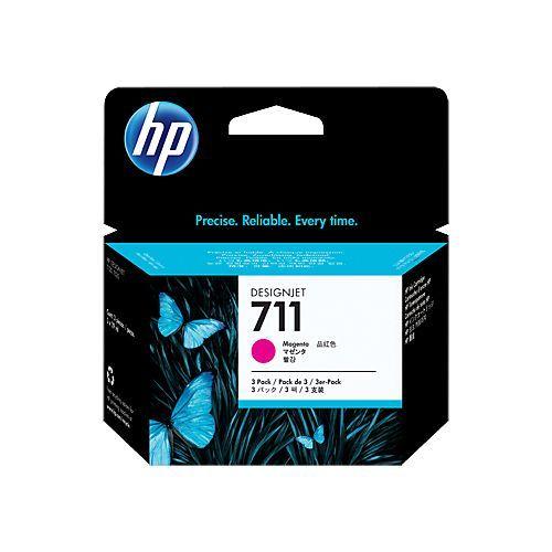HP HP 711 (CZ135A) 3pack magenta 3x29ml (original)
