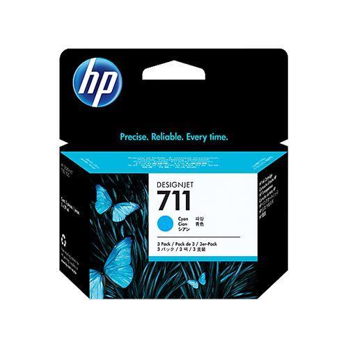 HP HP 711 (CZ134A) 3pack cyan 3x29ml (original)