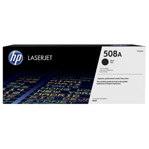HP HP 508A (CF360A) toner black 6000 pages (original)