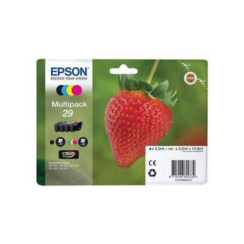 Epson Epson 29 (C13T29864012) ink c/m/y/bk 180 pages (original)