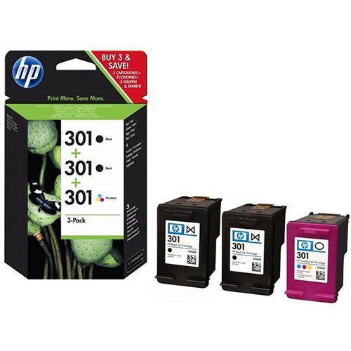 HP HP 2x301 (E5Y87EE) ink black 190/165 pages (original)