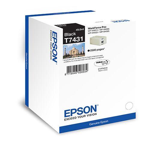 Epson Epson T7431 (C13T74314010) ink black 2500 pages (original)