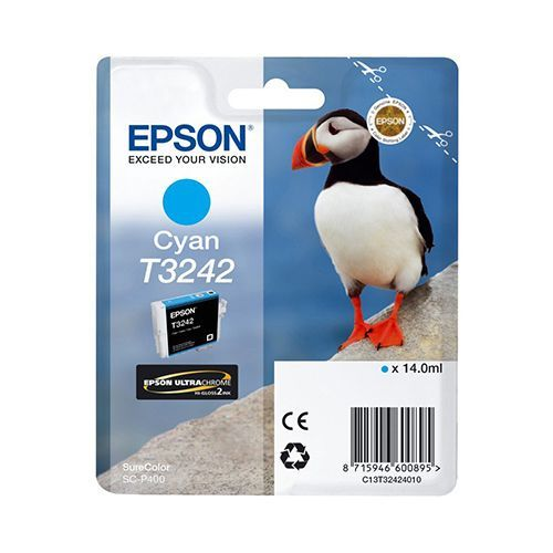 Epson Epson T3242 (C13T32424010) ink cyan 980 pages (original)