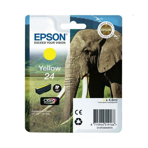 Epson Epson 24 (C13T24244010) ink yellow 360 pages (original)