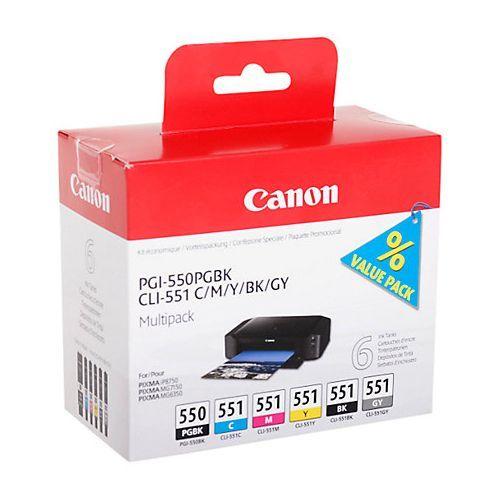 Canon Canon PGI-550/CLI-551 (6496B005) multipack (original)