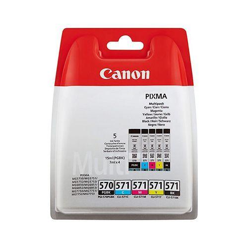 Canon Canon CLI-571 (0372C004) multipack c/m/y/bk (original)