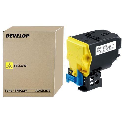 Develop Develop TNP-22Y (A0X52D2) toner yellow 6000 pages (original)