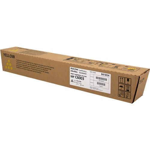 Ricoh Ricoh MP C6003 (841854) toner yellow 22500 pages (original)