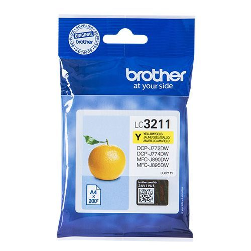 Brother Brother LC-3211Y ink yellow 200 pages (original)