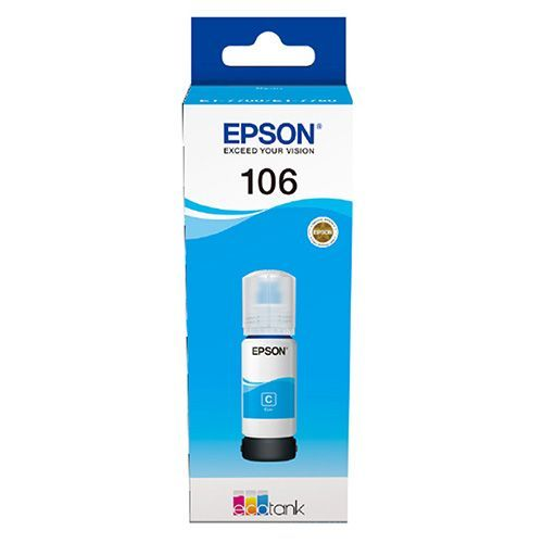 Epson Epson 106 (C13T00R240) ink cyan 5000 pages (original)