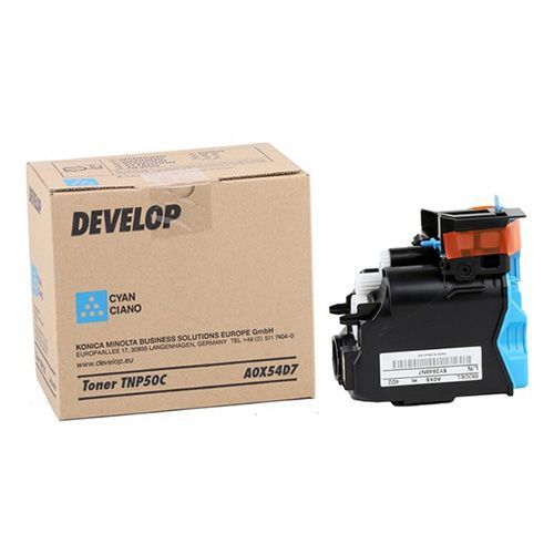 Develop Develop TNP-50C (A0X54D7) toner cyan 5000 pages (original)