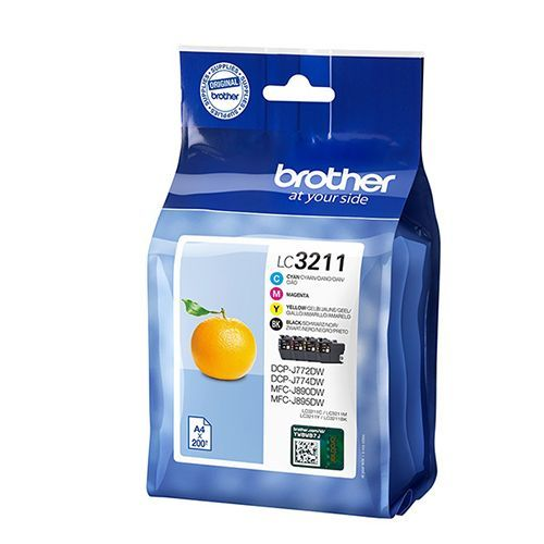 Brother Brother LC-3211VALDR multipack c/m/y 200 pages (original)